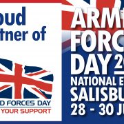 Armed Forces Day National Event 2019 poster